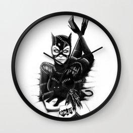 Catwoman #2 Wall Clock