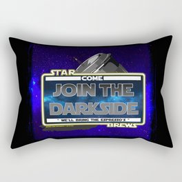Come to the Darkside, The Coffee Wars, Jeronimo Rubio, Photography, Art 2016 Rectangular Pillow