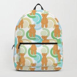 Tedy Bear Bonanza - Green Backpack
