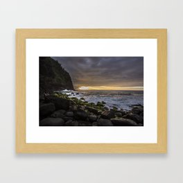 Na Pali Coast, Kauai Framed Art Print
