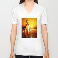 alchemy V-neck T-shirts featuring Alchemy by Danielle Tanimura