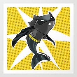 The Batfish Art Print