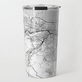 Caracas Map Line Travel Mug
