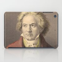 beethoven iPad Cases featuring Beethoven by Palazzo Art Gallery