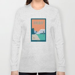 Scarif Travel Poster Long Sleeve T-shirt