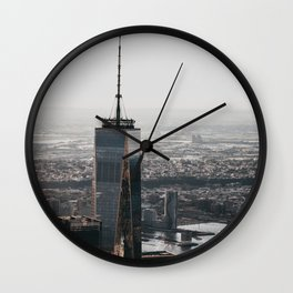 New York CitySkyline One World Trade Center Wall Clock
