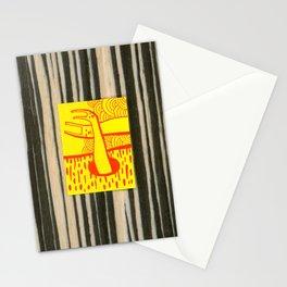 Rabbit Cat 2 Stationery Cards