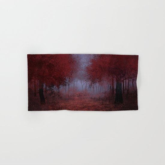red forest Hand & Bath Towel