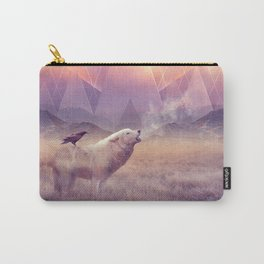 In Search of Solace Carry-All Pouch