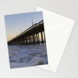 Sea Under The Pier Stationery Cards