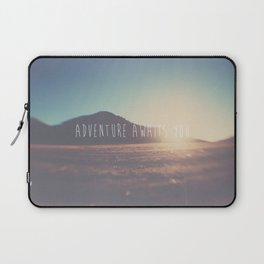 adventure awaits you ... Laptop Sleeve