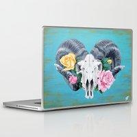 ram Laptop & iPad Skins featuring Ram  by Sarah K. Fowler