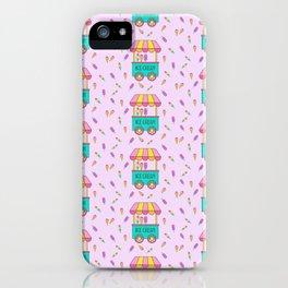 Icecream Cart Pink  iPhone Case