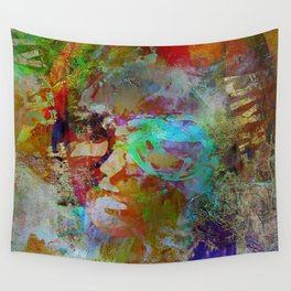 Girl of piccadilly circus Wall Tapestry