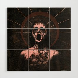 Our Lady of Rust and Anguish Wood Wall Art