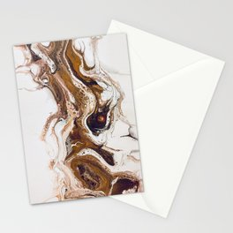 Spilled Coffee Stationery Cards