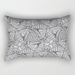 Aloof, a Cat Tessellation Rectangular Pillow