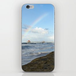 Christmas Rainbow At Ruby's 12-25-18 iPhone Skin