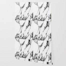 white marble III Wallpaper