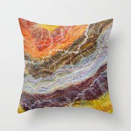 Citrine I - Sheer Fashion Throw Pillow