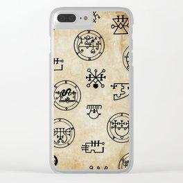 Lemegeton Clear iPhone Case