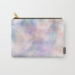 Watercolor Dreams, Abstract Teal, Purple, Blue, Peach Carry-All Pouch