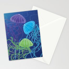 Ethereal Jellies Stationery Cards