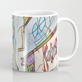 NYC Life in Times Square Coffee Mug