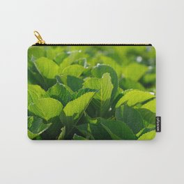 Hydrangea foliage Carry-All Pouch