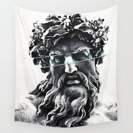Zeus the king of gods Wall Tapestry