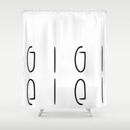gigi Shower Curtain