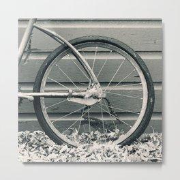 Vintage Bicycle 1 Metal Print