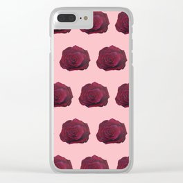 I'm Feeling Rosy Clear iPhone Case