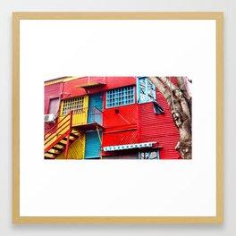 El Caminito II Framed Art Print