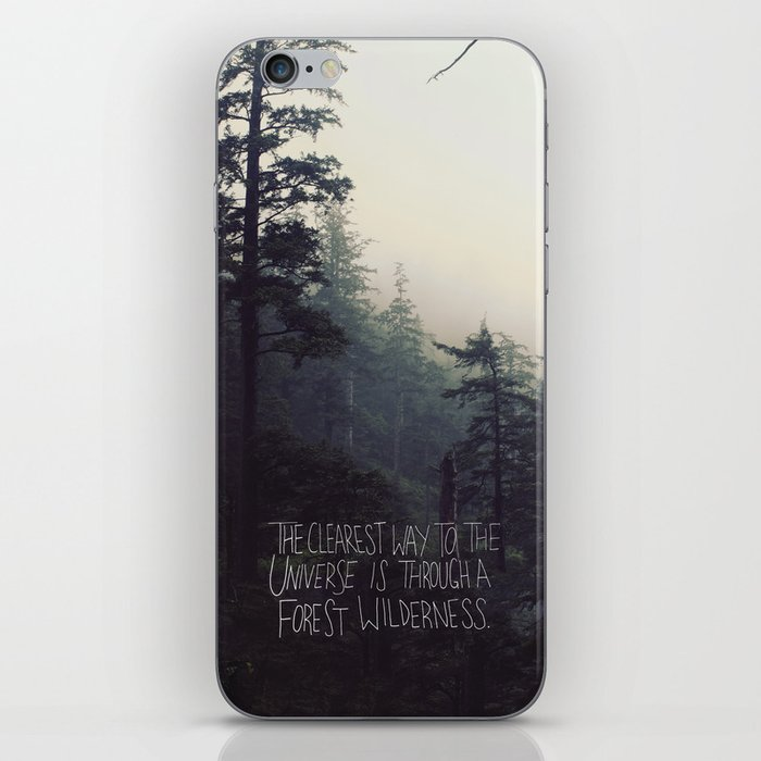 Forest Universe II iPhone Skin
