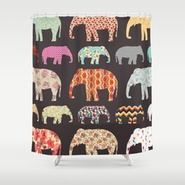 Elefant Shower Curtain