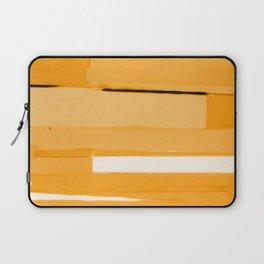 Gold Monochromatic Laptop Sleeve