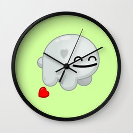 Lovestruck Lump Wall Clock