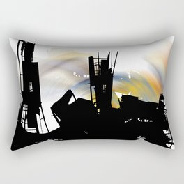 city eclypse Rectangular Pillow