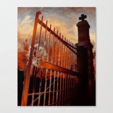 Close The Gate Canvas Print