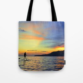 Stand Up Paddle Tote Bag