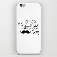 It's a Mumson Thing iPhone & iPod Skin