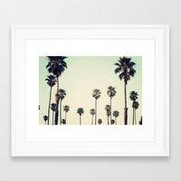 california Framed Art Prints featuring California  by Bree Madden