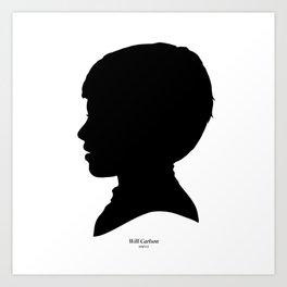 Will Carlson Silhouette Art Print