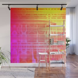 Colorful Abstract Wall Mural