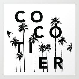 Cocotier Art Print