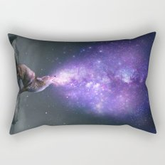 All Things Share the Same Breath (Coyote Galaxy) Rectangular Pillow