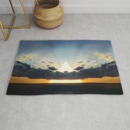 Abstract Environment 03: Volcano Rug