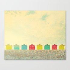 Beachfront Canvas Print