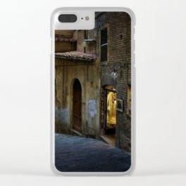 Siena Laneway Clear iPhone Case
